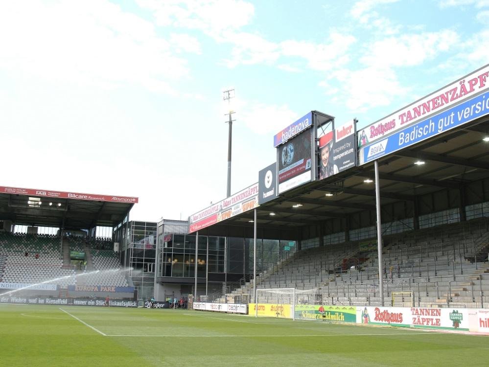 Der Streit um das neue Stadion in Freiburg geht weiter. ©FIRO/SID