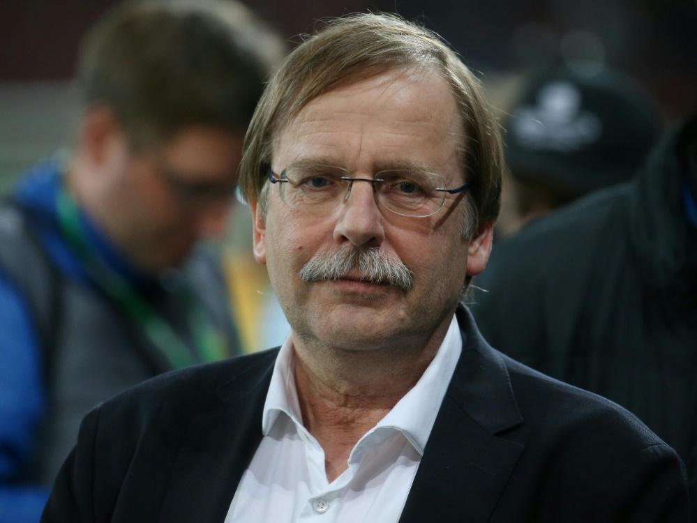 Präsident des Bayerischen Fußball-Verbandes: Rainer Koch. ©FIRO/SID