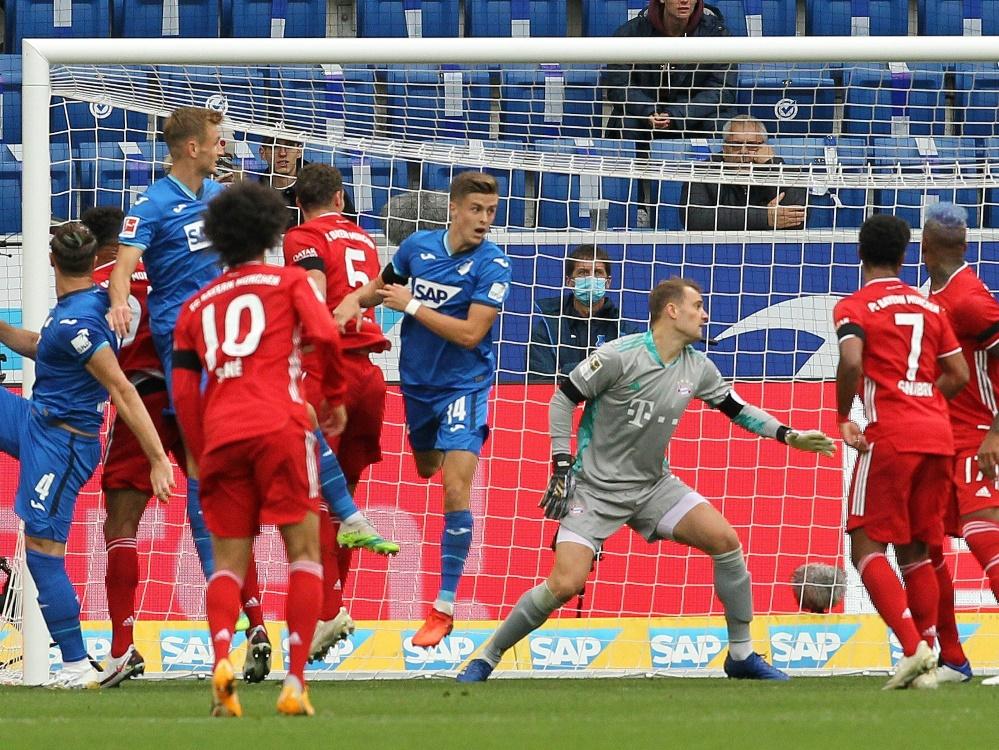 Der FC Bayern verliert gegen Hoffenheim 1:4. ©SID DANIEL ROLAND