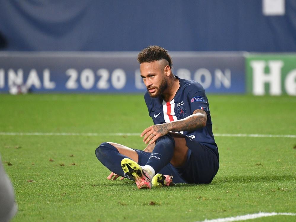 Neymar schuldet spanischem Finanzamt Geld. ©FIRO/SID