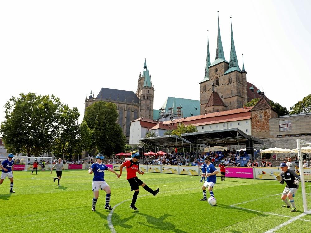 Blindenfußball: Meister Marburg siegt zum Auftakt. ©Carsten Kobow/DFB-Stiftung Sepp Herberger/Carsten Kobow/DFB-Stiftung Sepp Herberger