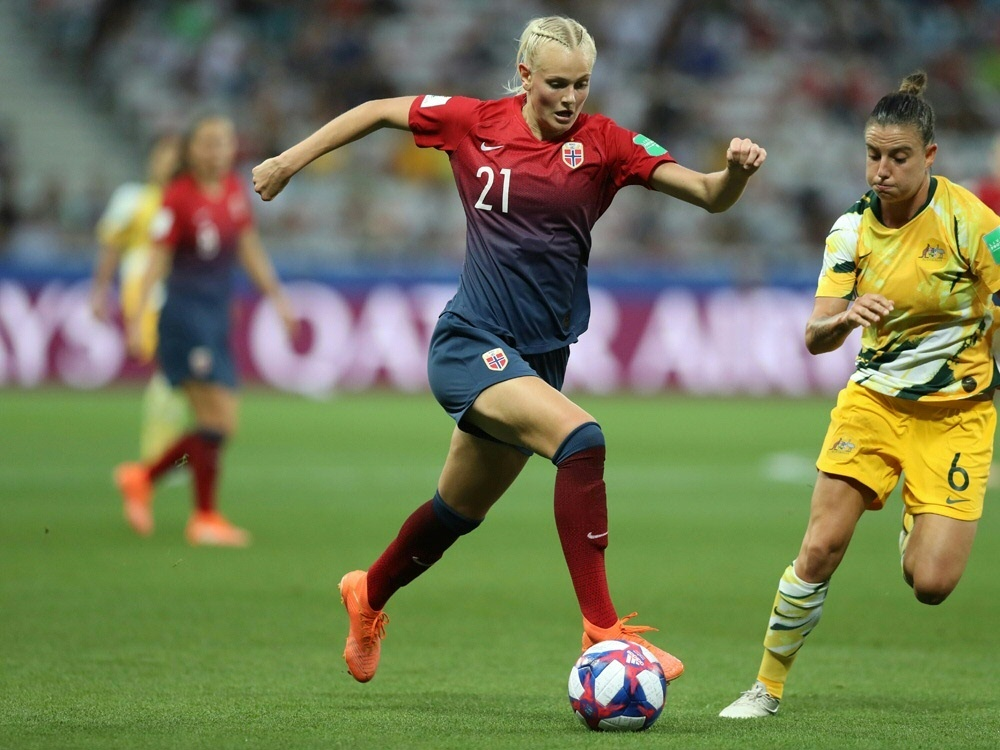 Nationalspielerin Saevik wechselt zu den Wölfinnen. ©SID VALERY HACHE