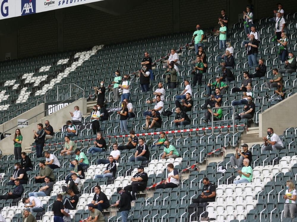 Aktuell sind die Zuschauerzahlen stark beschränkt. ©FIRO/SID