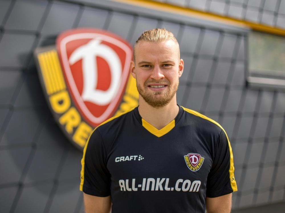 Neuer Kapitän bei Dynamo Dresden: Sebastian Mai. ©SGD/Steffen Kuttner/SGD/Steffen Kuttner