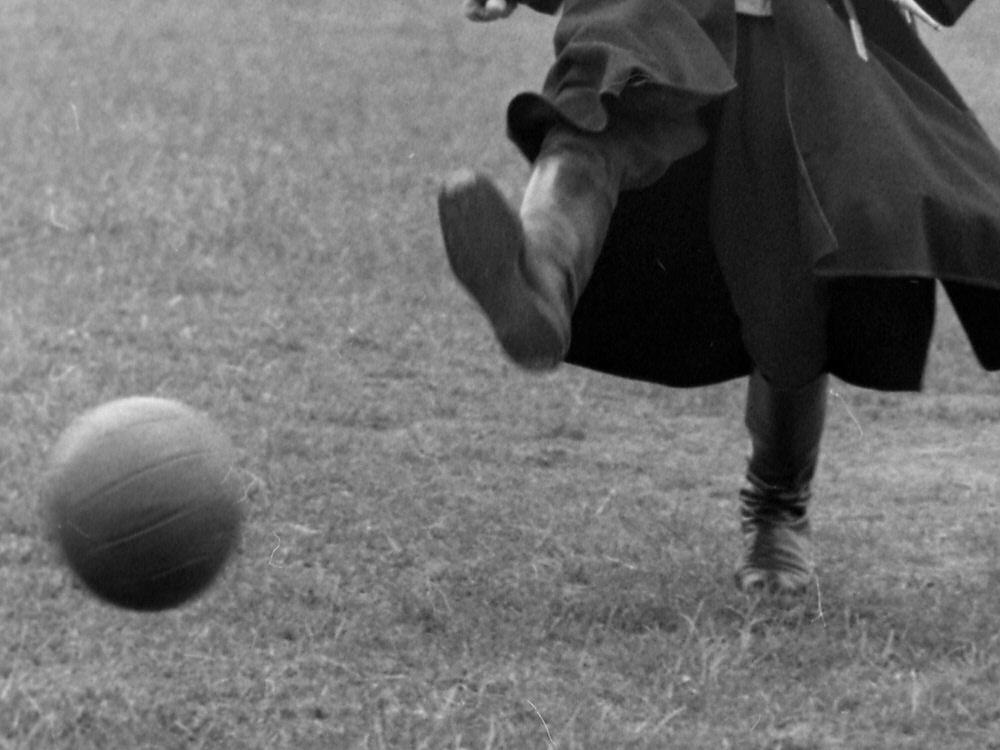 Die Geburtsstunde des Fußballs in Deutschland. ©SID Yuriy Somov