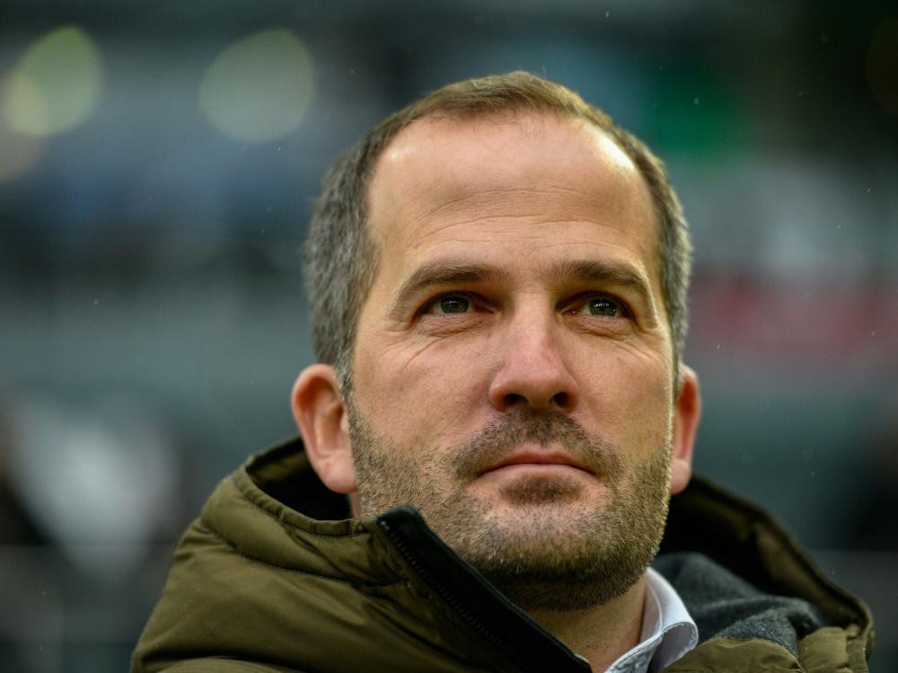 Manuel Baum steht vor einem Engagement bei Schalke 04. ©SID SASCHA SCHUERMANN
