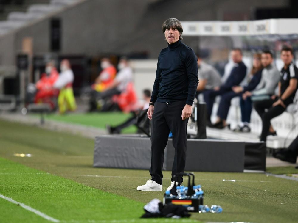 """Positiv überrascht"": Bundestrainer Joachim Löw. ©FIRO/SID"