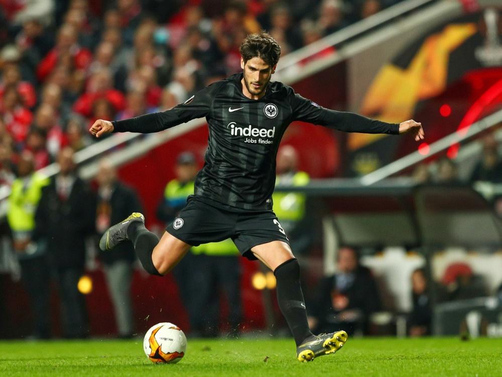 Verstärkt den Schalker Angriff: Goncalo Paciencia. ©FIRO/SID