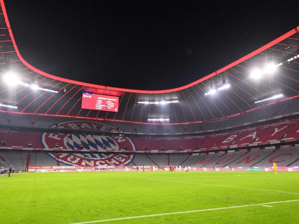 7500 Zuschauer dürfen in der Allianz Arena Platz nehmen. ©Witters/SID
