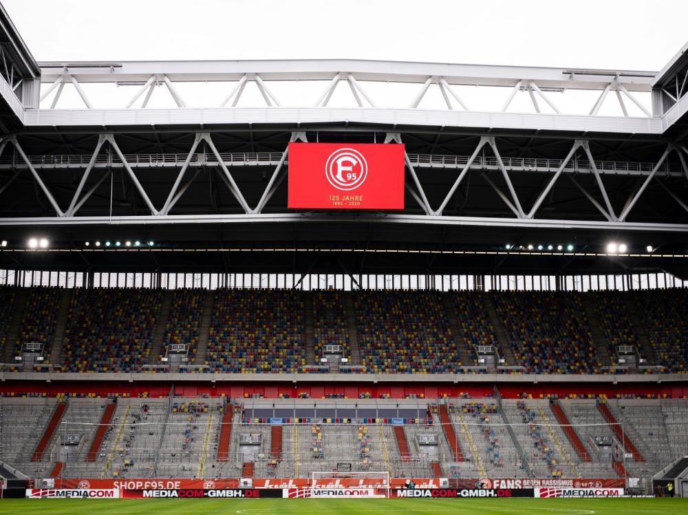 Mehr als 10.000 Zuschauer in Düsseldorf erlaubt. ©FIRO/SID
