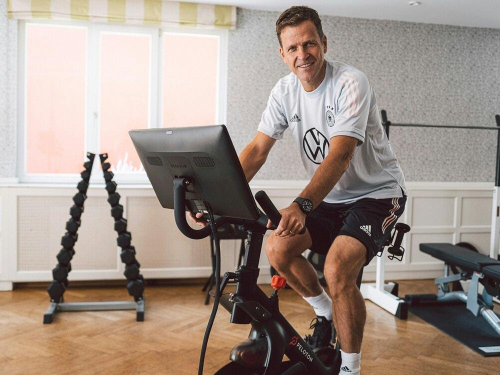 """Das """"Peloton Bike"""" wird künftig auch vom DFB genutzt. ©DFB / PhilippReinhard.com/DFB / PhilippReinhard.com Philipp Reinhard"""