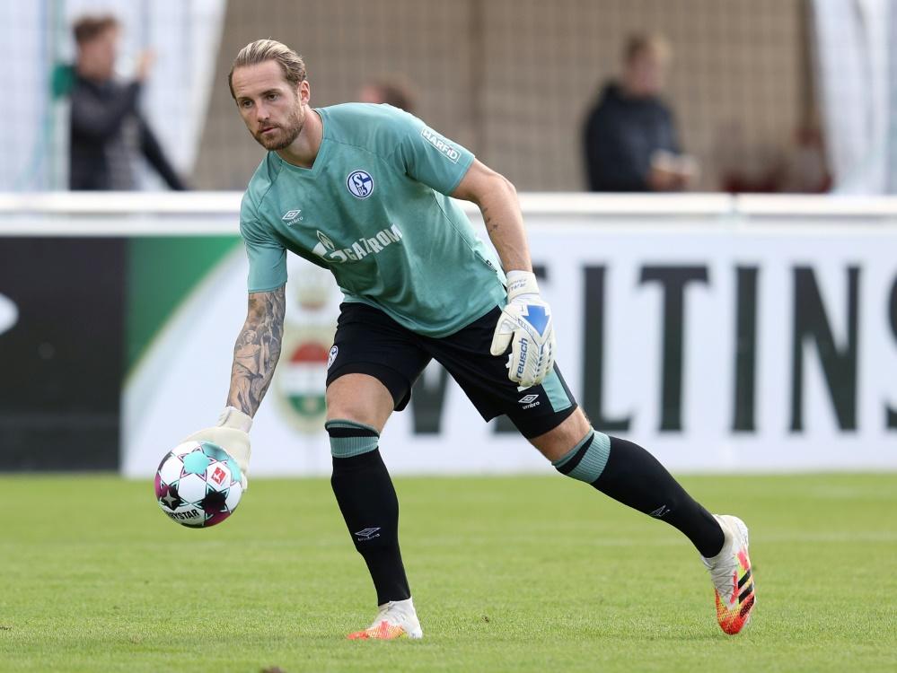 Fährmann ist wieder die Nummer 1 im Tor der Schalker. ©FIRO/SID