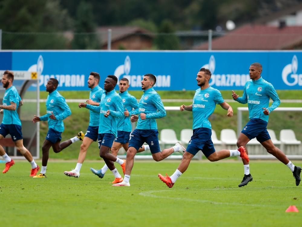 Schalke 04 vermeldet einen positiven Coronatest. ©FIRO/SID