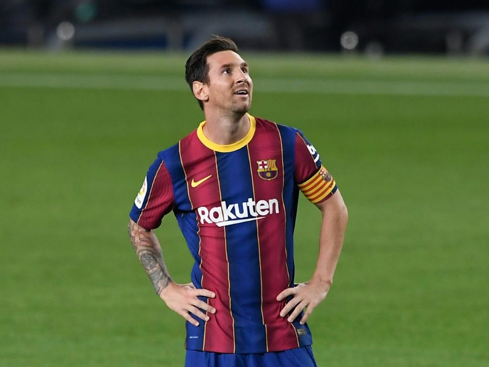 Versöhnliche Töne: Lionel Messi. ©SID JOSEP LAGO