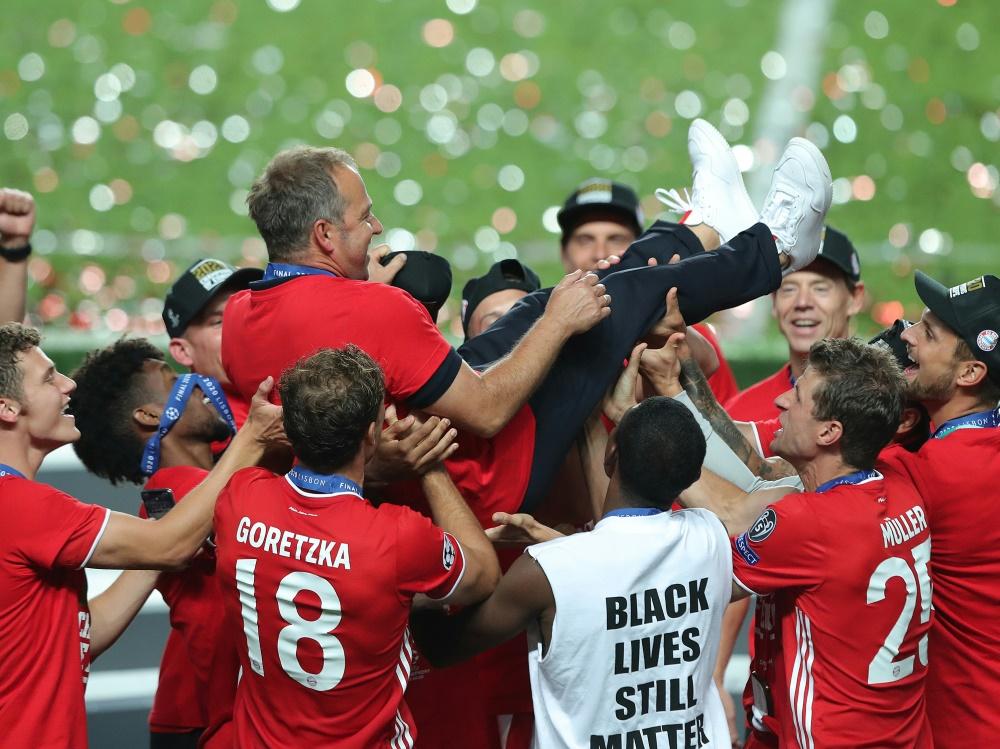 Flick: CL-Sieg intensiver als WM-Titel. ©SID MIGUEL A. LOPES