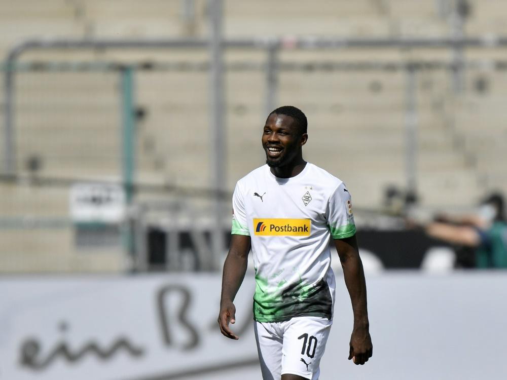 Thuram steht im Kader für das DFB-Pokalspiel am Samstag. ©SID MARTIN MEISSNER