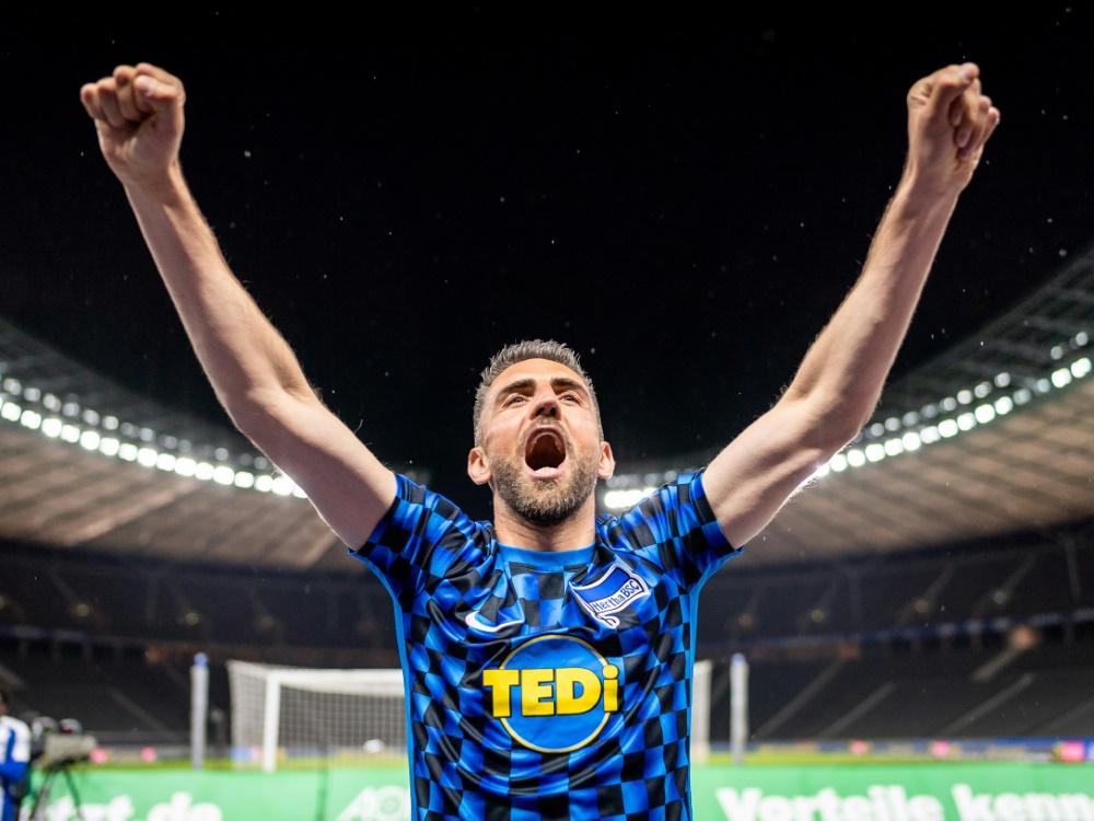 Verlässt offenbar den Hauptstadtklub: Vedad Ibisevic. ©SID Hertha BSC Pool