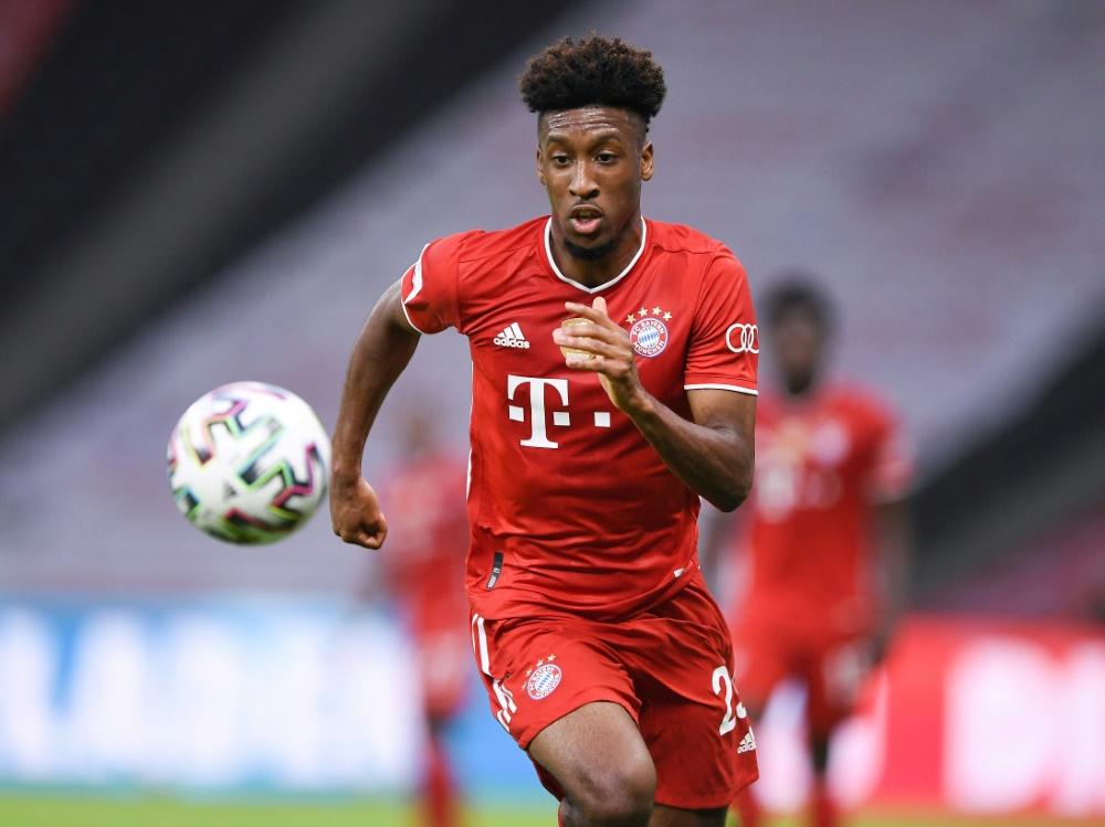 Kingsley Coman steht gegen Schalke nicht zur Verfügung. ©FIRO/SID