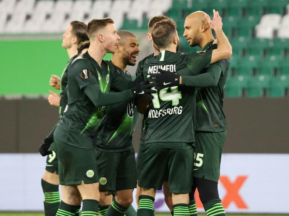 Wolfsburg erreichte vergangene Saison das Achtelfinale. ©firo Sportphoto/SID firo Sportphoto/ poolfoto