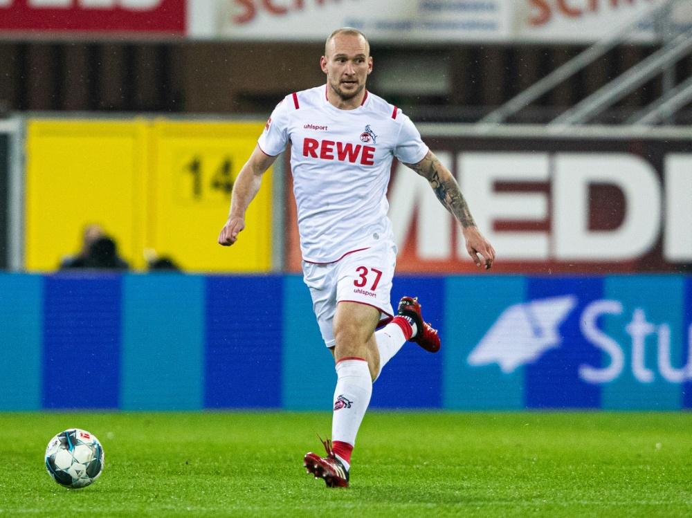 Der Ex-Kölner sorgt bei seinem HSV-Debüt für einen Eklat. ©FIRO/SID