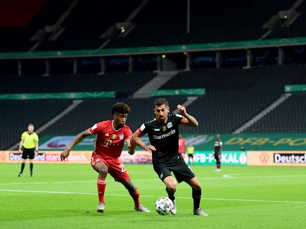 Zuletzt blieben die Ränge im DFB-Pokal leer. ©SID ROBERT MICHAEL