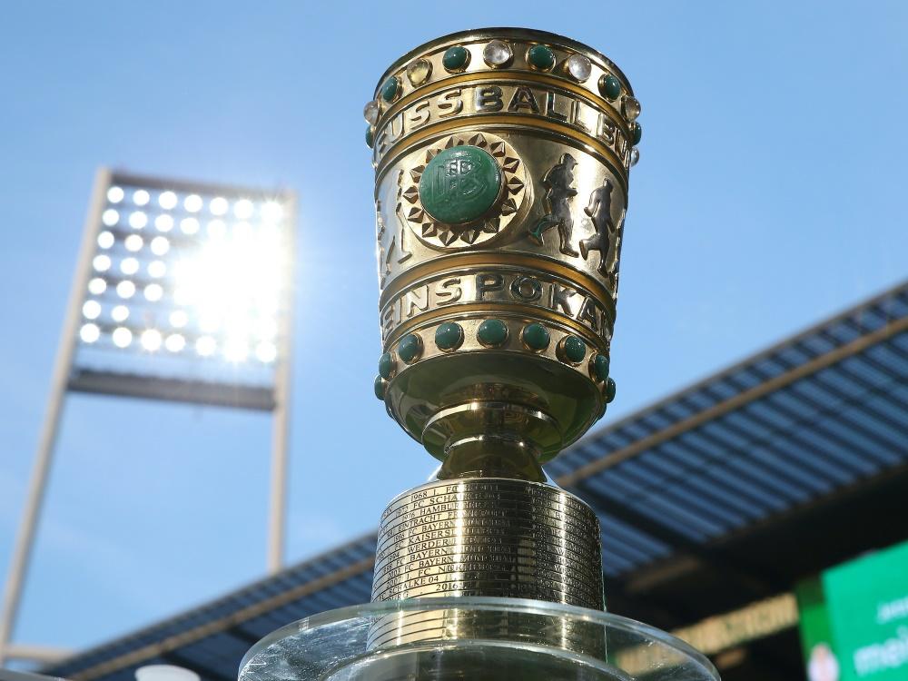Möglicher Pokal-Ausschluss: Schweinfurt prüft Optionen. ©FIRO/SID