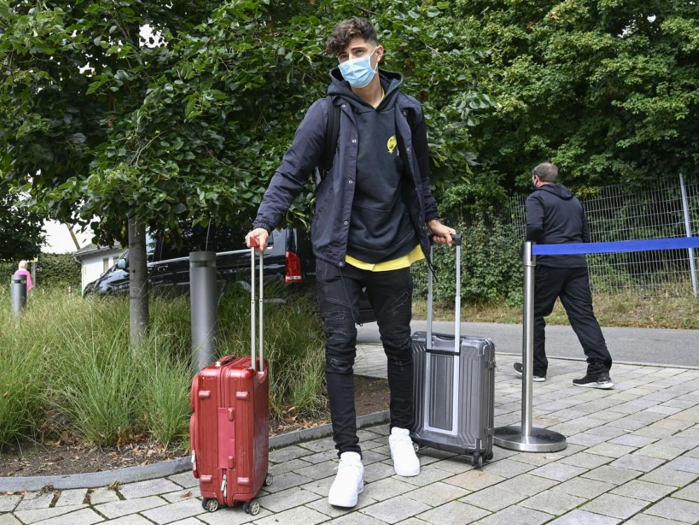 Kai Havertz verlässt das DFB-Quartier vorzeitig. ©SID THOMAS KIENZLE