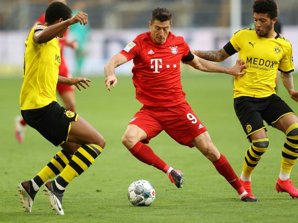 Sportwetten: Bayern ist Favorit auf die Meisterschaft. ©FIRO/SID