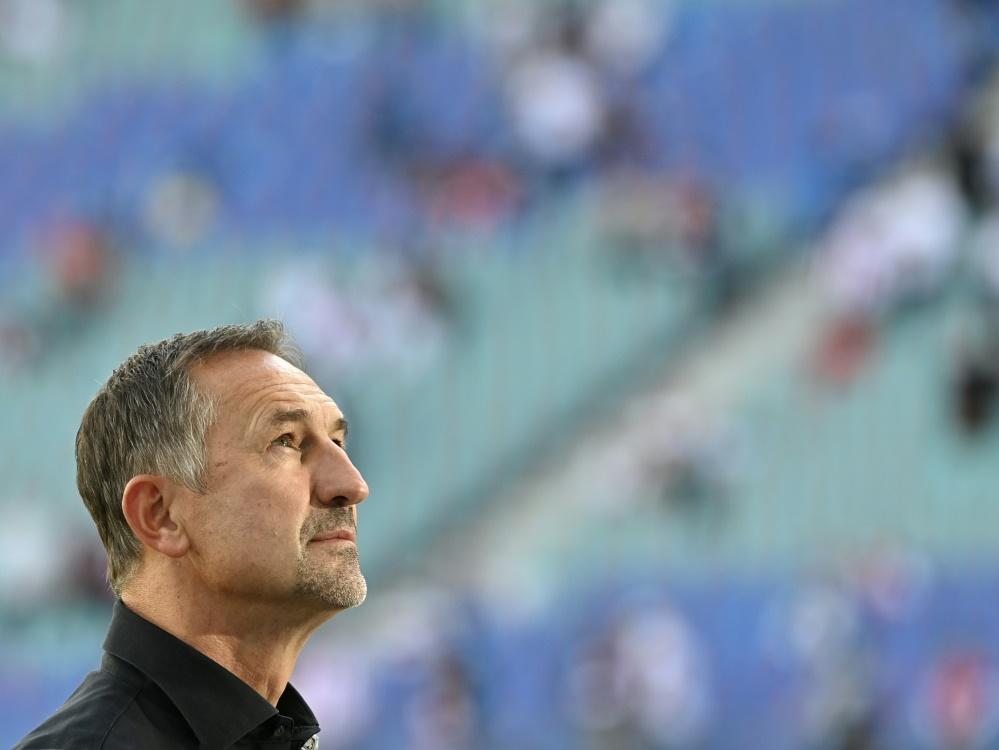 Achim Beierlorzer nicht mehr Trainer von Mainz 05. ©SID JOHN MACDOUGALL