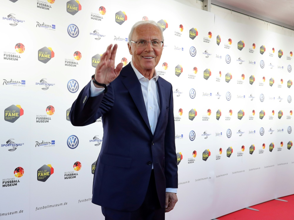 ZDF sendet Dokumentation über Franz Beckenbauer. ©FIRO/SID