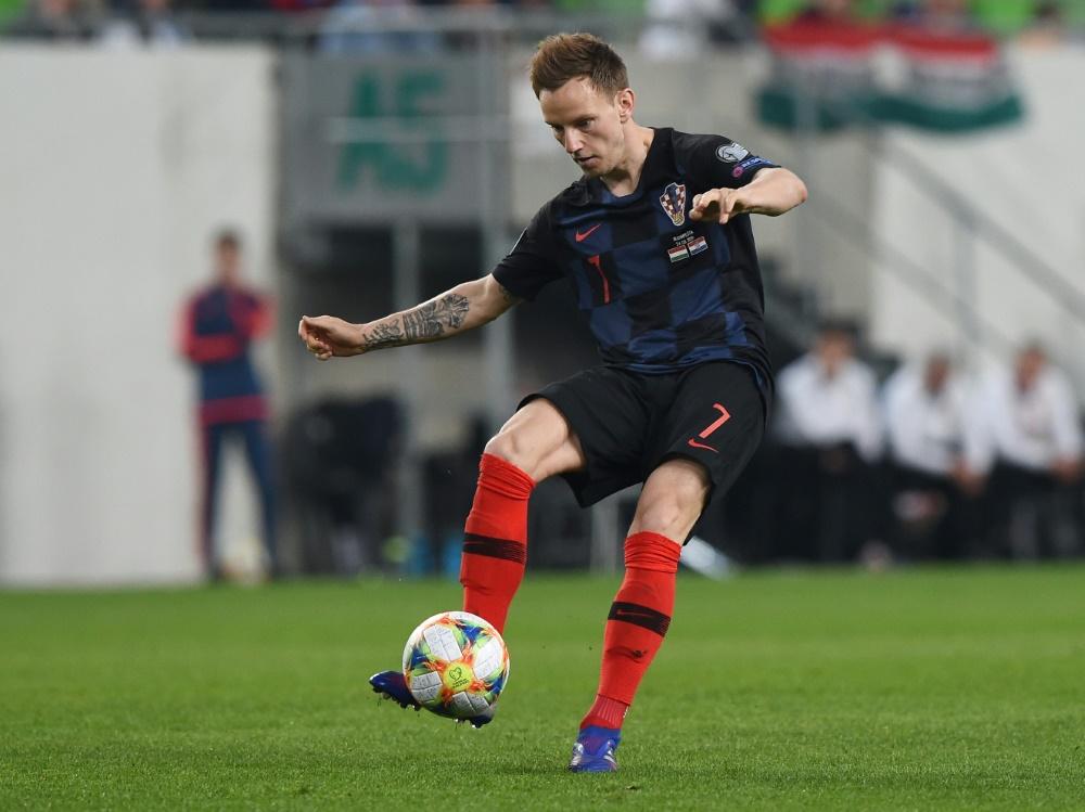 Ivan Rakitic wird nicht mehr für Kroatien auflaufen. ©SID ATTILA KISBENEDEK