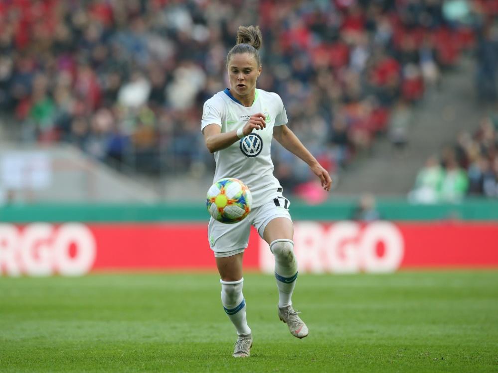 Ewa Pajor steht dem VfL vorerst nicht zur Verfügung. ©FIRO/SID