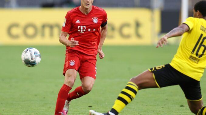 Bvb Gegen Bayern Supercup 2021