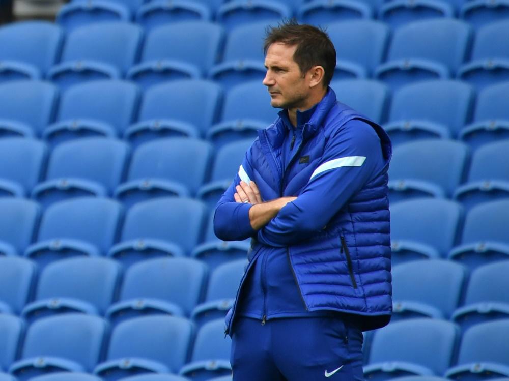 Beim FC Chelsea ist Geduld gefragt: Frank Lampard. ©SID GLYN KIRK