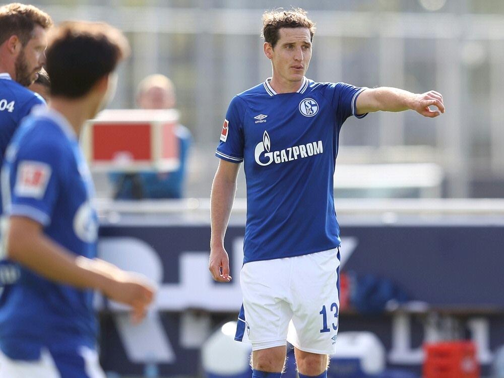 Rudy hofft auf einen Sieg und die Wende bei Schalke. ©FIRO/SID