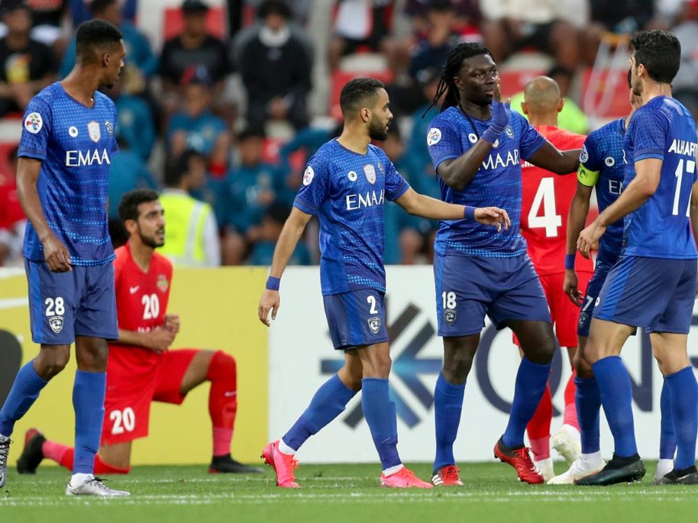 Spieler von Al Hilal wurden positiv auf Corona getestet. ©SID -