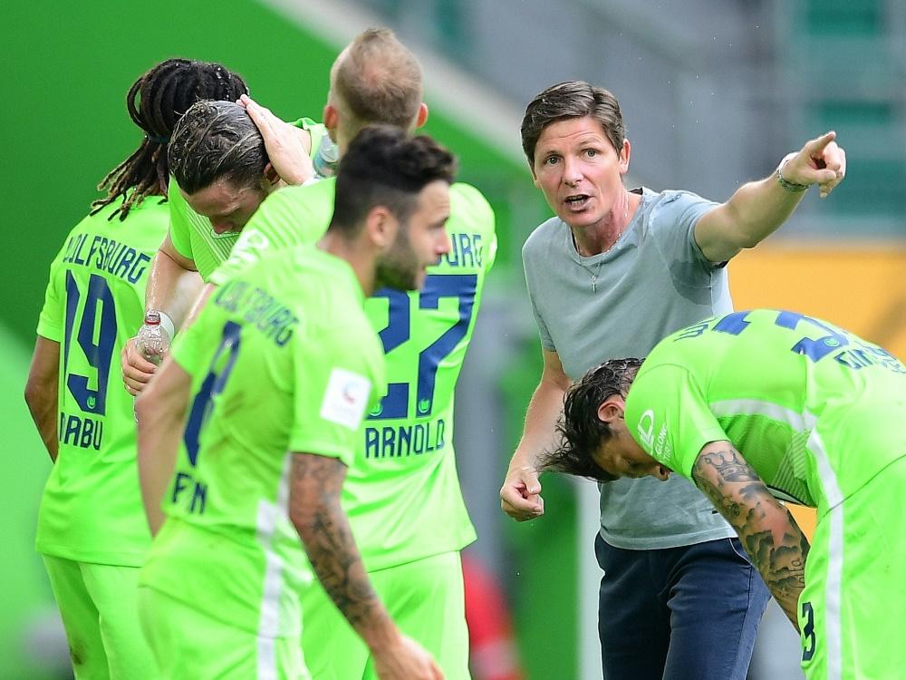 Glasner will mit seinem Team die dritte Runde erreichen. ©FIRO/SID