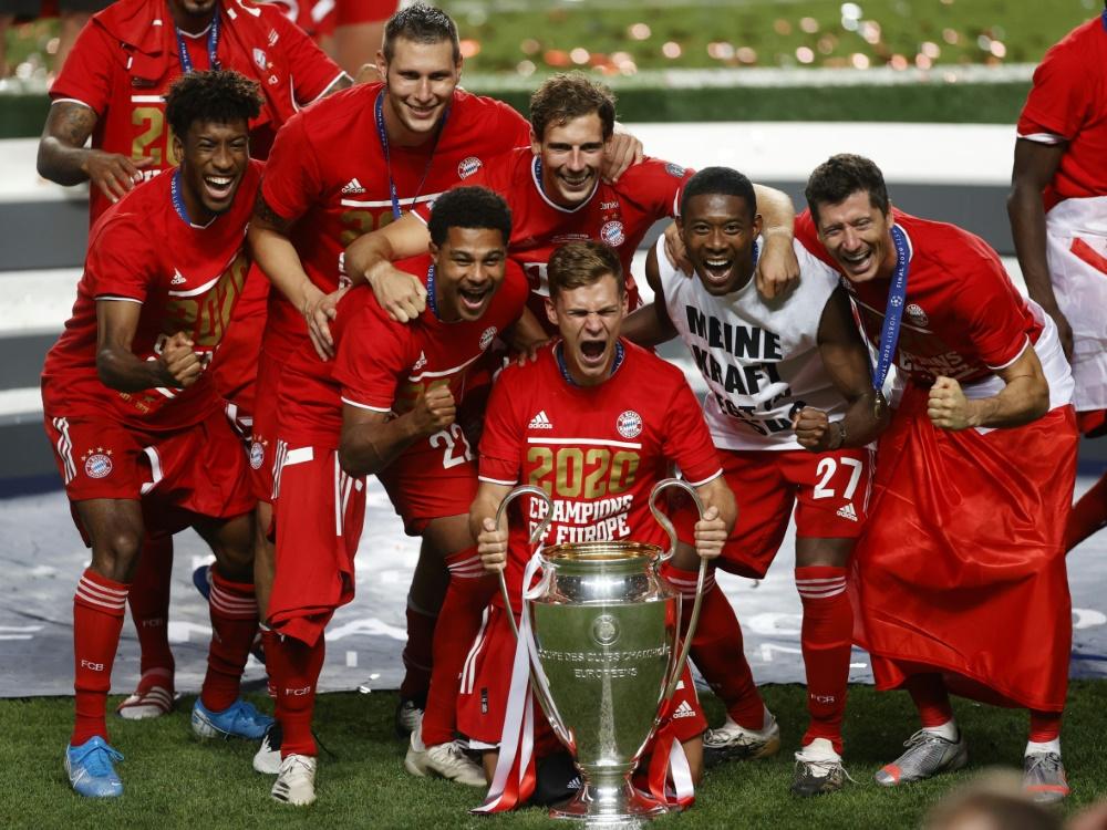 Bayern starten am 21. Oktober in Champions League. ©POOL/SID