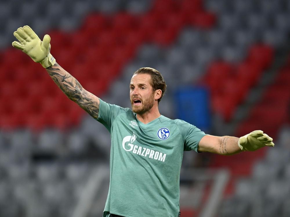 Bleibt vorerst im Schalker Tor: Ralf Fährmann . ©SID CHRISTOF STACHE