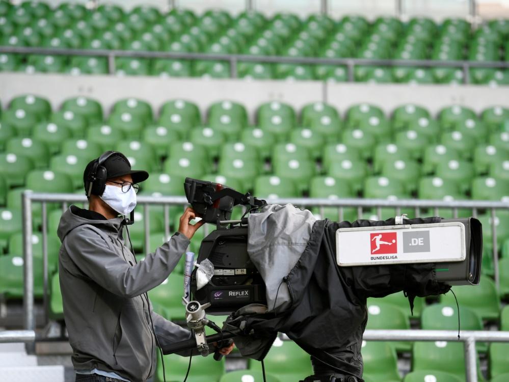 Höhrere Hygienestandards für TV-Teams aus Risikogebieten. ©SID FABIAN BIMMER