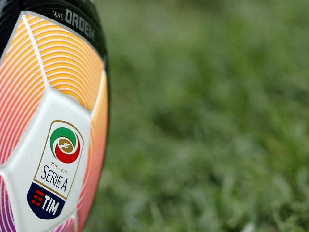 Serie A: Partie Genua - Turin abgesagt. ©SID MARCO BERTORELLO