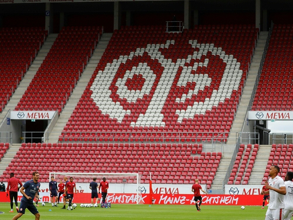 Mainz 05 leiht David Nemeth nach Graz aus. ©POOL/SID KAI PFAFFENBACH