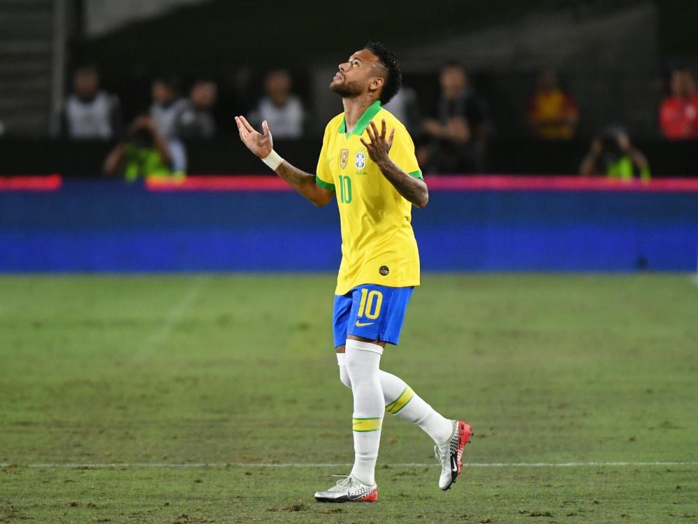 Angeschlagen: Neymar. ©SID MARK RALSTON