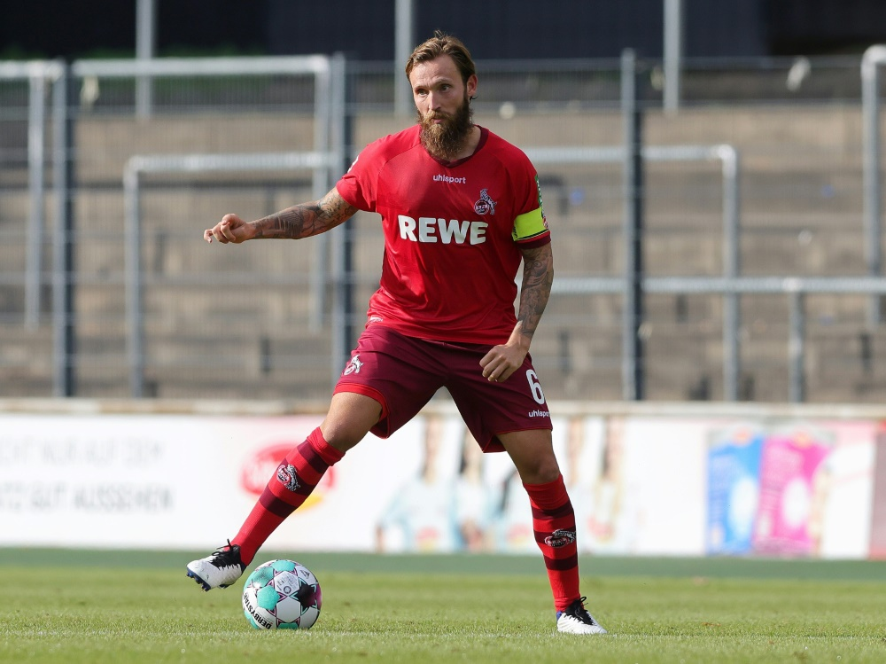 Höger würde nach der aktiven Zeit gerne bei Köln bleiben. ©FIRO/SID firo Sportphoto/Ralf ibing