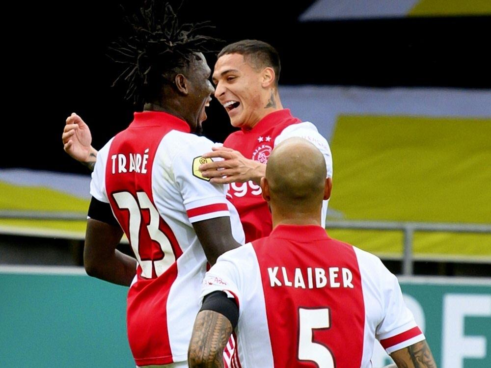 Ajax Amsterdam fertigt VVV Venlo ab. ©SID OLAF KRAAK
