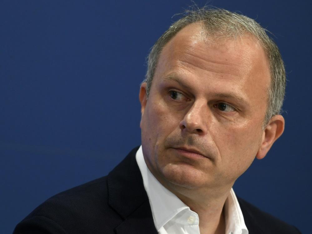 """Schneider: Rangnick bei Trainersuche """"keine Alternative"""". ©SID INA FASSBENDER"""