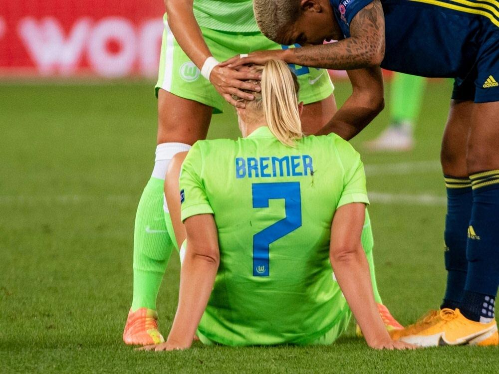 Saison-Aus für die Nationalspielerin vom VfL Wolfsburg. ©FIRO/SID