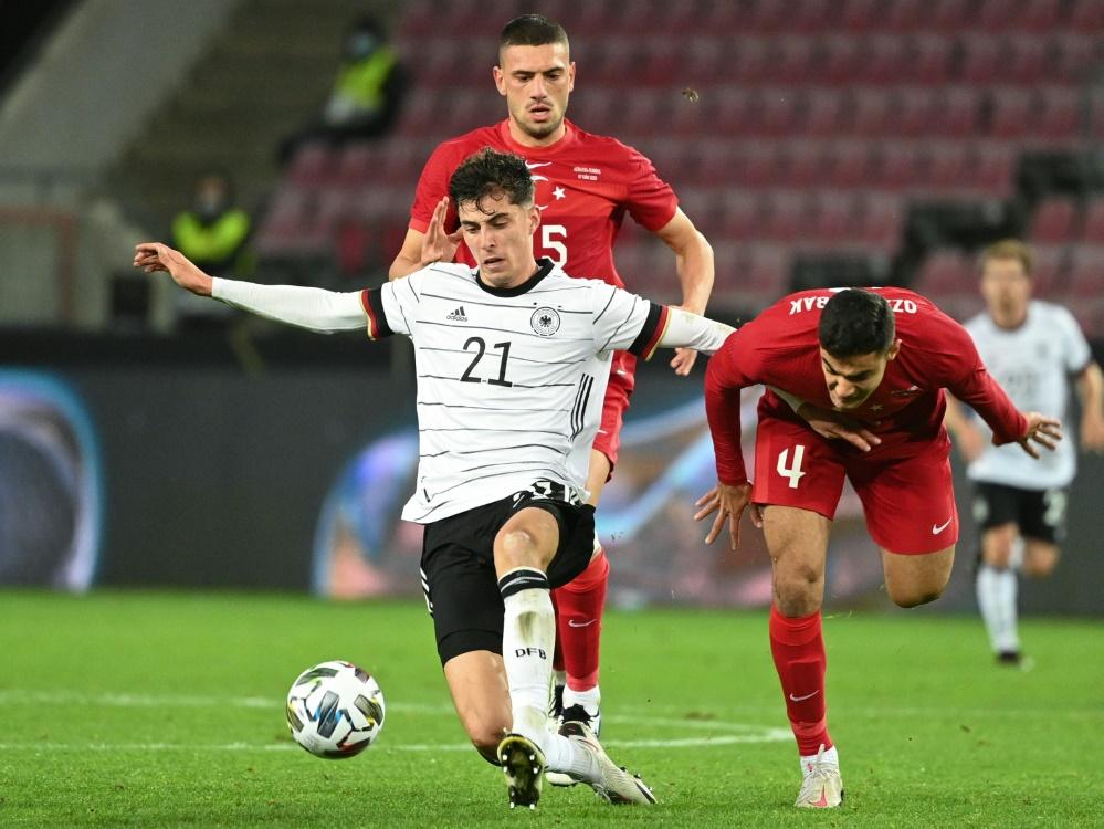 Keine gute Einschaltquote für die DFB-Elf. ©SID INA FASSBENDER