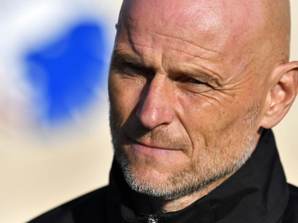 Solbakken ist nicht mehr Trainer beim FC Kopenhagen. ©SID LARS MOELLER