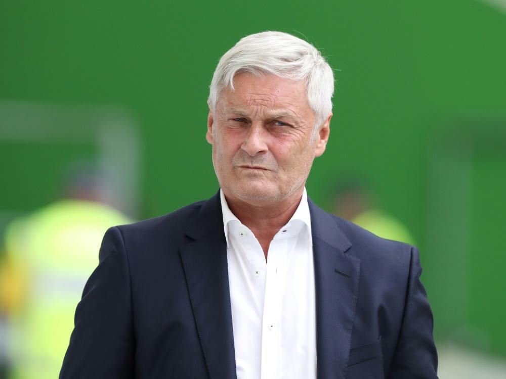 Armin Veh übte im Doppelpass Kritik am Ex-Klub aus Köln. ©FIRO/SID